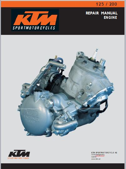 KTM125-200 Service Manual