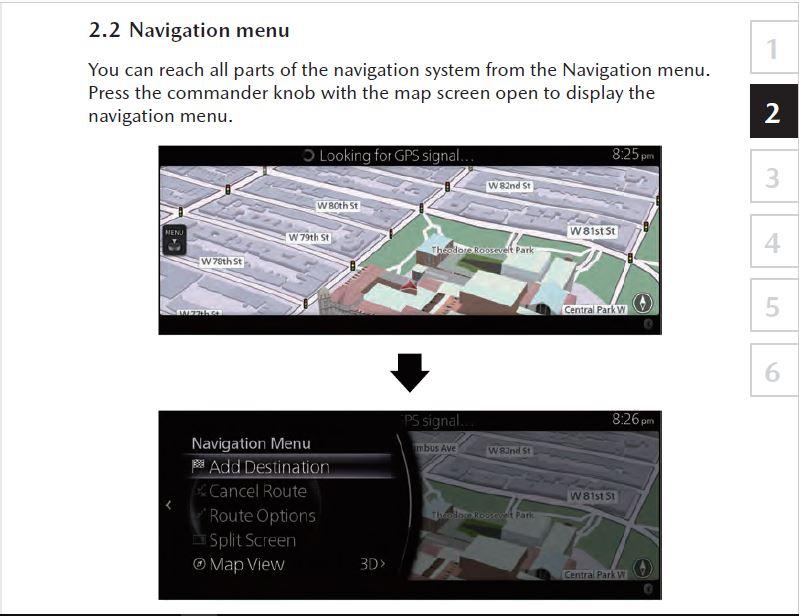 Mazda 3 Hatchback Navigation Owners Manual