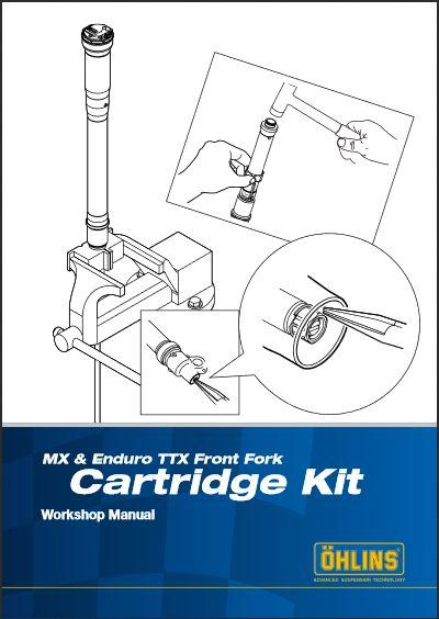 MX & Enduro TTX Front Fork Cartridge Kit Workshop Repair Manual