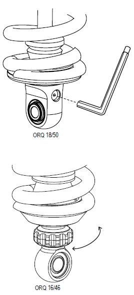 Ohlins ORQ 1646 & ORQ 1850 Rebound Damping Adjuster