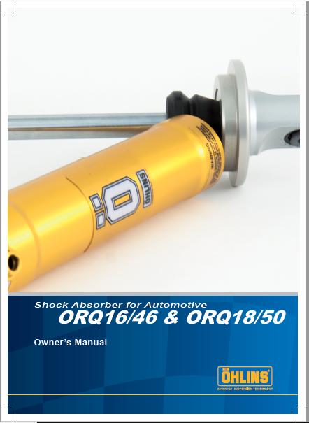 Ohlins ORQ 1646 & ORQ 1850 Manual