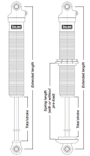 Öhlins Shock Absorbers Technical information