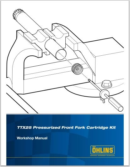 Ohlins TTX25 Workshop Repair Manual