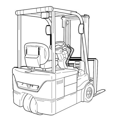 FORKLIFT 7FBE10 to 20 series Manual