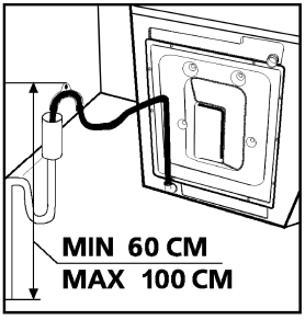 Whirlpool Washer WATER DRAIN CONNECTION