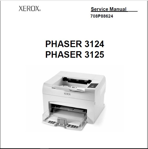 Xerox Phaser 3125 Service Manual