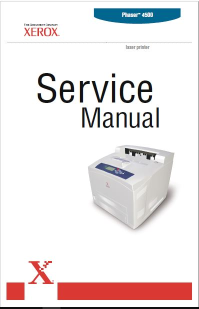 XEROX PHASER 4500 SERVICE MANUAL