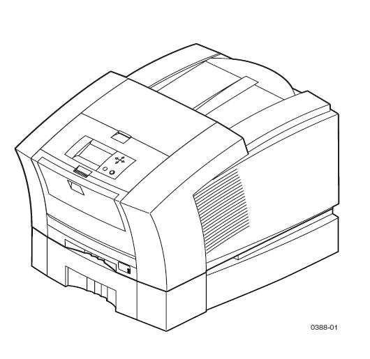 Xerox Phaser 860 Service Manual