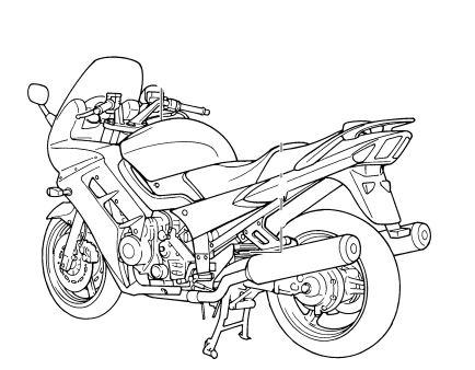 Yamaha FJR1300 User Manual