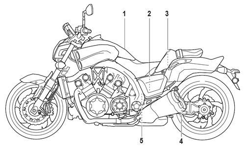 Yamaha VMX17Y(C) Owners manual