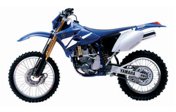 Yamaha wr450f Owners Manual