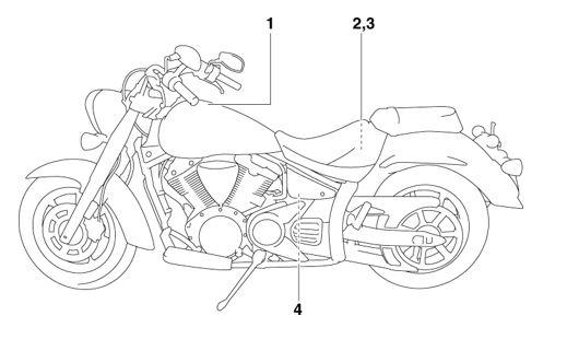 Yamaha XVS13AW(C) Owners Manual