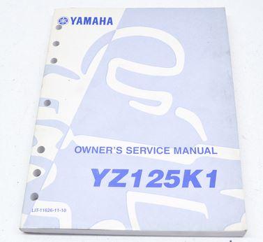 Yamaha YZ125K1 Part Fiche